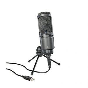 Microfono Audio-Technica AT2020 Para Mac y PC