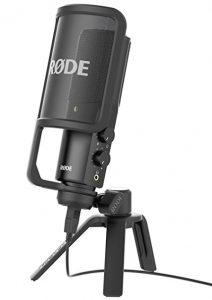 Microfono Rode NT-USB Para Youtubers