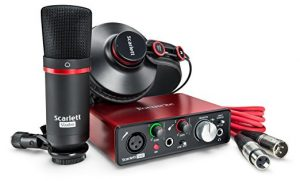 Pack  de Estudio Para Youtube Focusrite Scarlett