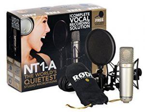 Pack de microfono Rode NT1-A Para Youtubers
