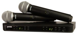 Shure BLX1288/P31 microfono inalambrico