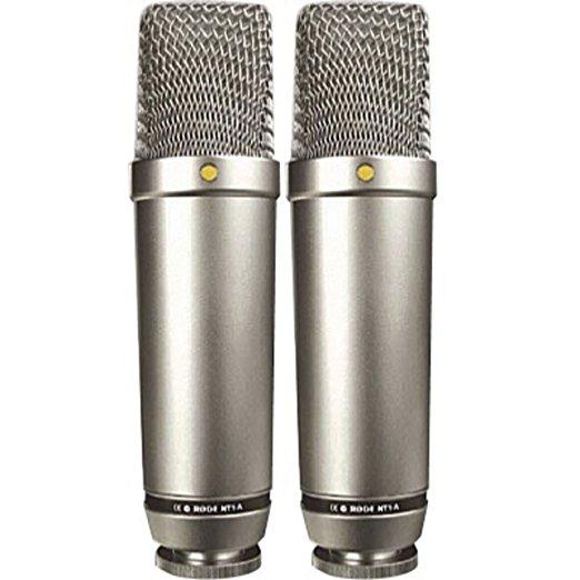Micrófono para estudio de grabación