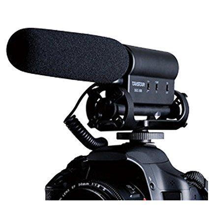 Micrófono para cámara Canon